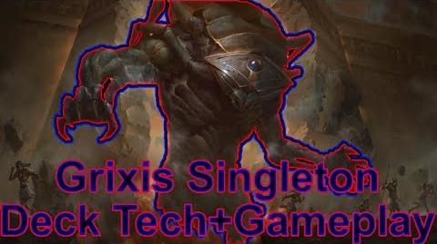 Grixis Singleton Deck Tech and Gameplay
