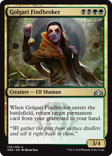 Golgari Findbroker