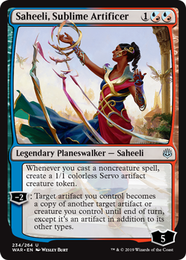 Saheeli, Sublime Artificer