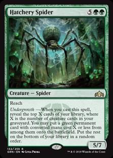 Hatchery Spider