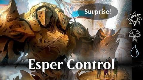 MTG Arena beta - Esper Control (WUB)