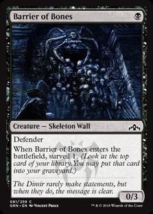 Barrier of Bones