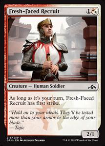 Fresh-Faced Recruit