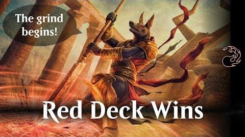 MTG Arena beta - Red Deck Wins (RDW)