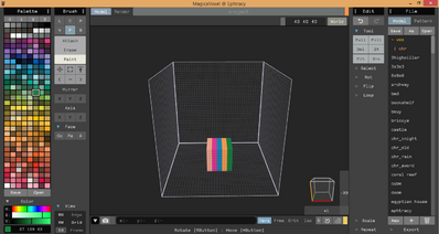 Asset 0.99.1a tutorial measurer 106 painted-cube