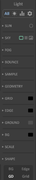 Interface 0.99.5a panel-light