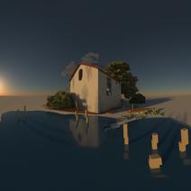 Interface 0.99.5a render matter-lens spherical projection