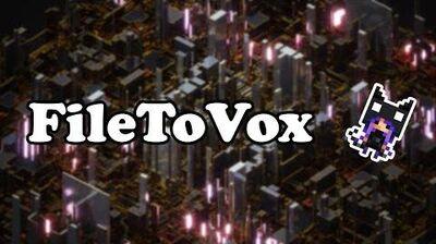 FR Tutoriel FileToVox MagicaVoxel JSPlacement