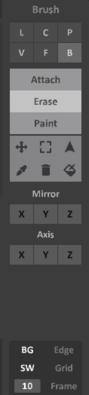 Interface 0.99.5a panel-brush
