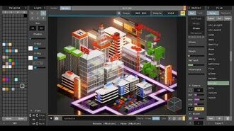 MagicaVoxel 0.99 Preview