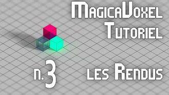 MagicaVoxel Tutoriel FR - 3 Les rendus