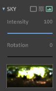 Interface 0.99.5 render light-image based lighting