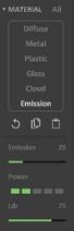 Interface 0.99.5a render matter-emission
