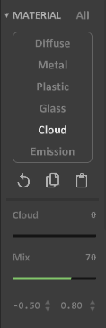 Interface 0.99.5a render matter-cloud