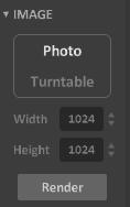 Interface 0.99.5a render matter-image photo