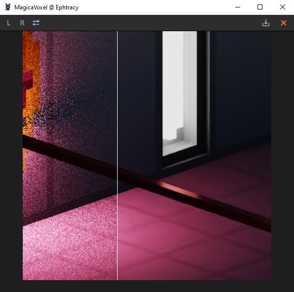 Interface 0.99.5a render image-filter denoiser