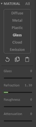 Interface 0.99.5a render matter-glass