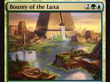 Bounty of the Luxa