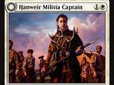 Hanweir Militia Captain