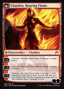 Chandra, Roaring Flame