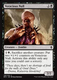 Voracious Null