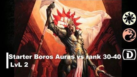 Lvl 2 Boros Starter only vs 30-40 rank