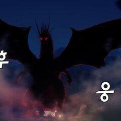 Matthew's dragon form