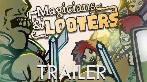Magicians and Looters Trailer