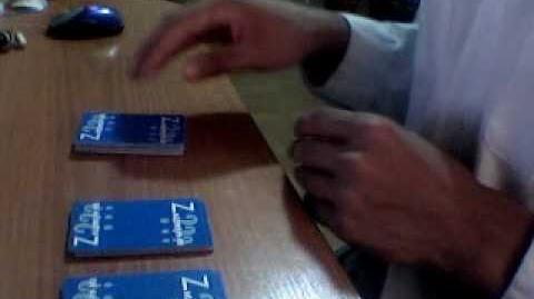 Карточный фокус - 4 вальта