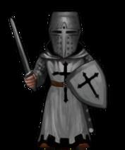 Crusader wizard