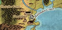 Dunderhaed map