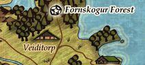 Veiditorp map