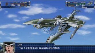 Super Robot Wars T - NSX Attacks