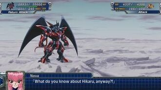 Super Robot Wars T - Rune God Regalia Attacks