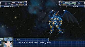 Super Robot Wars T - Sea God Selece Attacks