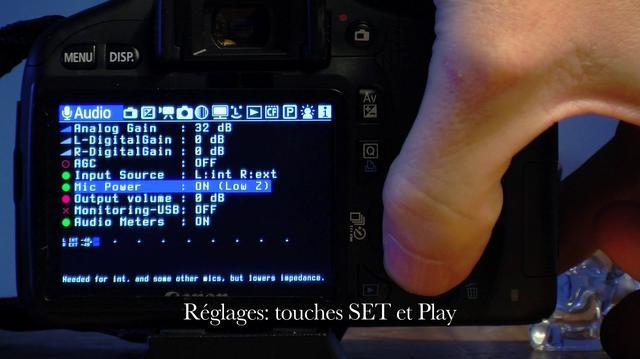 Video - Magic Lantern pour les debutants - audio   Magic Lantern