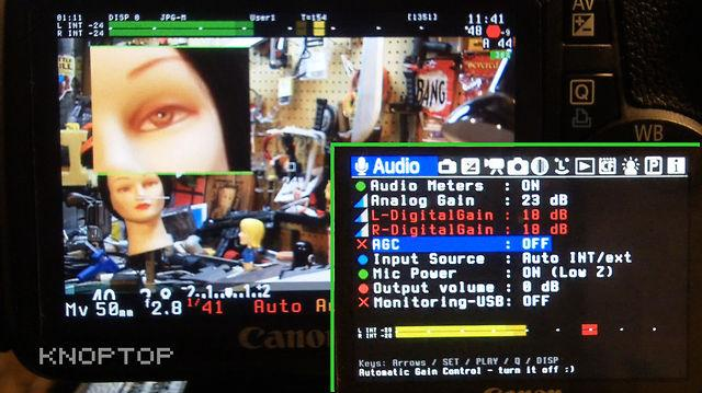 Magic Lantern 0.2.1 Unified T2i DSLR Firmware + Live Audio Preview