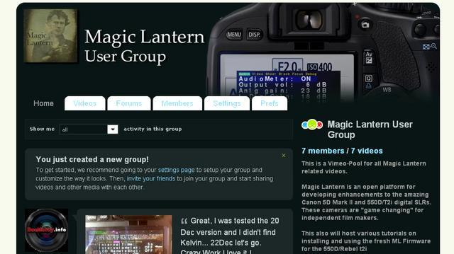 550D T2I Magic Lantern Installing New Builds, Offical ML in parallel, Deinstalling ML