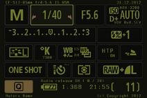 Info Shoot 600D
