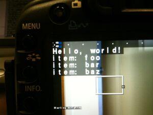Pymite Hello World