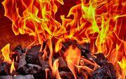 Уголь горящий