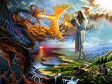 Деление славянских богов на светлых и темных