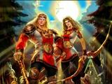 Славянская боевая магия и боевая магия стихий