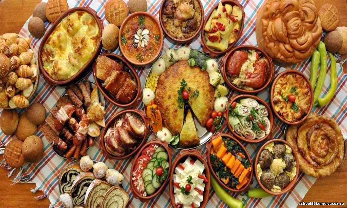 украинский стол с едой картинки личная