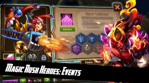 Magic Rush Heroes Wheel event 30 try (Robin)