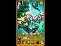 Grunk skin Frankenstein