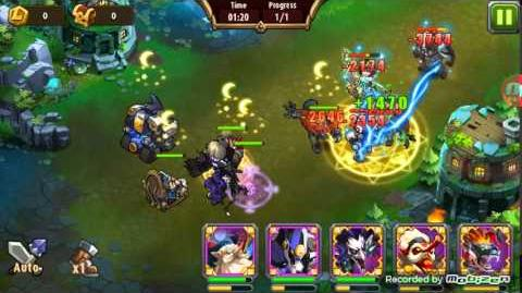 Magic Rush Heroes Mech Baby Crusade