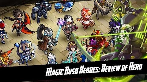 Magic Rush Heroes Crash (Krash) Review + Gameplay