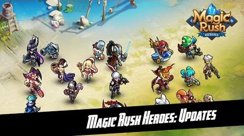Magic Rush Heroes New Update 1.1.84.69 & 1.1.85.70 & New Hero Crash
