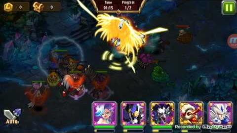 Magic Rush Heroes Mech Baby Dungeon